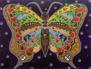 Healing native counseling butterfly by leah yellowbird